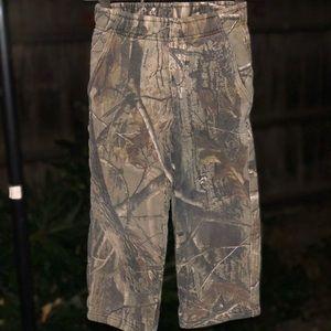 Bass pro shops hunting camo pants little boys
